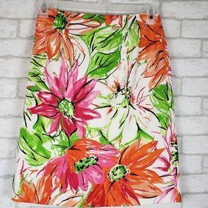 Grace Elements Skirts - Grace Elements Black Label Floral Pencil Skirt 4